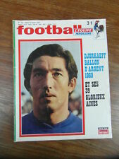 REVUE France FOOTBALL MAGAZINE (L'EQUIPE) No 120 (1970) SOCHAUX SKOBLAR