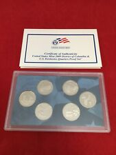 2009 Mint Silver QTRS Proof Set Certificate Of Authenticity