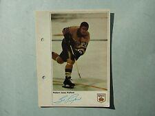 1971/72 TORONTO SUN NHL ACTION HOCKEY PHOTO BOB PULFORD SHARP!! TORONTO SUN