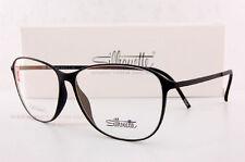 New Silhouette Eyeglass Frames URBAN LITE FULLRIM 1573 6054 Black Unisex SZ 55