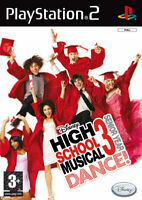 High School Musical 3 Senior Year Danse PS2 PLAYSTATION 2 Disney Interactive
