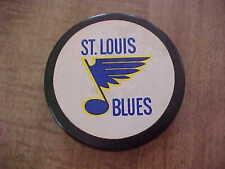 1980's St. Louis Blues Hockey Puck (large logo)