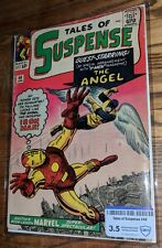 TALES OF SUSPENSE #49 IRON MAN vs THE ANGEL! 3.5 VG- CBCS *LEE/DITKO* Marvel '64