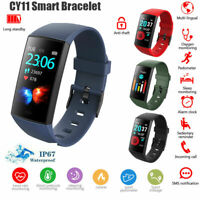 CY11 Watch Waterproof Smart Bracelet Heart Rate Blood Pressure Monitor Watch