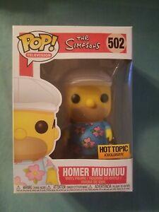 Funko Pop! TV - The Simpsons - Homer Muumuu - Hot Topic Exclusive #502