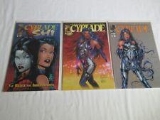 Cyblade Shi #1 + Cyberforce Origins Cyblade #1 + #1A Variant Image Comics NM-