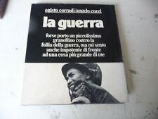 LA GUERRA di EGISTO CORRADI/ANGELO COZZI(FOTO)- PRIMA EDIZIONE EI 1978- A2
