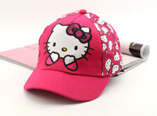 Cute Rose Hello Kitty Hat Cap Women Baseball Golf Ball Sport Hats Adjustable