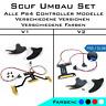 PS4 Easy Remapper gelötet / inkl. Paddles & Schrauben / alle Modelle / Scuf Set