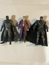 dc multiverse suicide squad batman Joker 3 Figure Lot