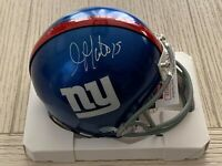 Golden Tate autographed signed mini helmet NFL New York Giants JSA