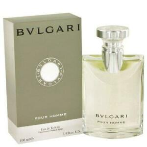 Bvlgari By Bvlgari Pour Homme For Men EDT Spray, 3.4 Ounce/100ML NEW