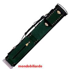 FODERO MILAN VERA PELLE 2CALCI 4PUNTE STECCA DA BILIARDO - CUSTODIA PROFESSIONAL
