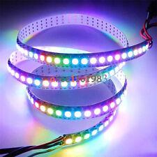 WS2812B 5050 RGB LED Strip 1M 60 Leds 60LED Individual Addressable 5V Black PCB