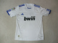 Adidas Cristiano Ronaldo Real Madrid Soccer Jersey Adult Small White Futbol Mens