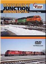 University Junction Minnesota Vol 1 DVD BNSF CP  SOO CN