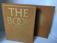 The Book of Kells 1976 230 Pages 126 Color Plates 75 Monochrome Illustrations