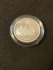 Silbermünze 1000 Francs  PP  Pamir in Kapsel