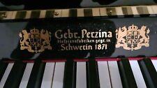 Schönes Klavier der Gebrüder Perzina Hof-Pianoforte Fabrikanten Schwerin