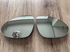 Porsche Cayenne OEM LH RH mirror glass SET heating dimming + spot zone from 2018