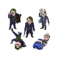 5pcs/ set figures The Joker, Batman Dc comics. The Dark Knight. Q version. PVC