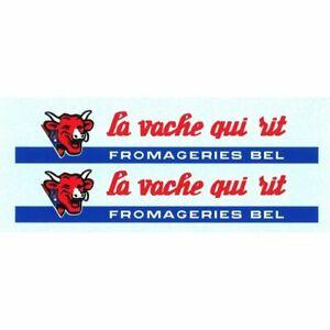 """** DEC166 - Planche décalcomanies pour Bernard """"LA VACHE QUI RIT"""" SOLIDO #304"""