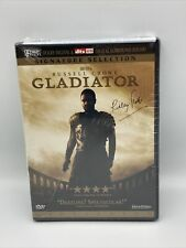 Gladiator Dvd Sealed 2000 2-Disc Set Widescreen Russell Crowe Brand New