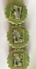 Yankee Candle Scented Green VANILLA LIME Wax Tarts - Set Lot of 3