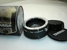 TAMRON MC Tele convereter 2x,   C / Y mount for  Yashica / Contax mount cameras
