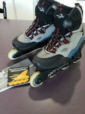 Rollerblade Burner 212 Air Cell Cushion Inline Skates Womans Size 7 Worn Once!
