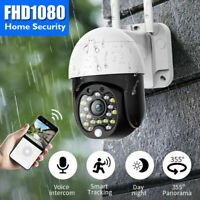 ✅ Outdoor WiFi PTZ 1080P HD Zoom Home Security Wireless IP CCTV IR Camera