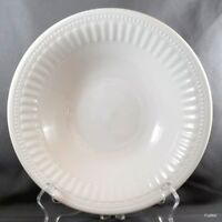 Oneida Athena Round Vegetable Bowl White Stoneware Majesticware 9.25""