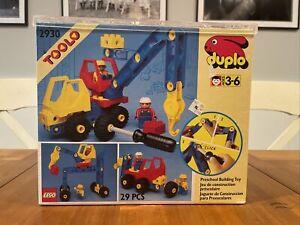 Lego Duplo Toolo 2930 Mobile Crane Rare Vintage Great 29 Pcs set BRAND NEW