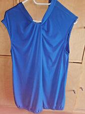 Shirt, Bluse, royalblau, Gr.L