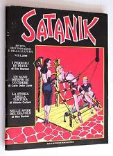 SATANIK n. 2 NELLE SPIRE DEL DIAVOLO MBP Max Bunker Press 1984