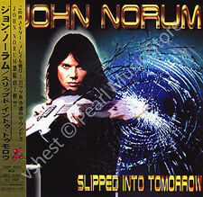 JOHN NORUM SLIPPED INTO TOMORROW CD MINI LP OBI Swedish rock band Europe new