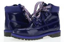 "TIMBERLAND 6"" Waterproof 166119 Purple Patent Leather Urban Short Boots size 8 M"