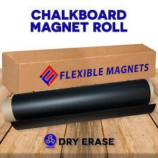 Black Dry Erase Chalkboard Magnet Sheet With White Magnetic Chalk Marker
