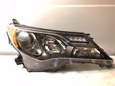 2013 2014 2015 TOYOTA RAV4 OEM LEFT DRIVER SIDE HEADLIGHT FACTORY HALOGEN