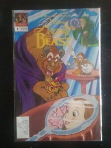 WALT DISNEY COMIC BOOK THE NEW ADVENTURES OF BEAUTY AND THE BEAST VOLUME #1 1991