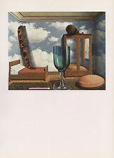 """1972 Vintage MAGRITTE """"PERSONAL VALUES - VALEURS PERSONNELLES"""" COLOR Lithograph"""