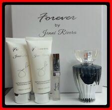 Forever By Jenni Rivera 4 Pc Set 3.4oz Spray+B Lotion 3.3oz+Shower Gel+Lip Gloss
