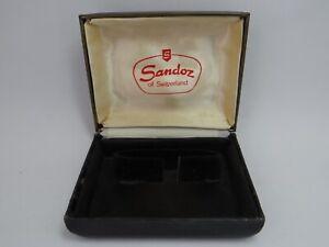Sandoz Watch Box Vintage 1960's