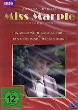 DVD - Miss Marple - Ein Mord wird angekündigt / Das Geheimnis der Goldmine
