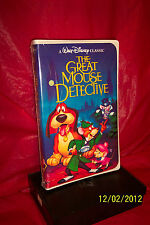 The Adventures of the Great Mouse Detective (VHS, 1999)