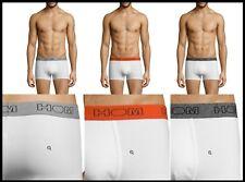 NEUF Lot 3 Boxers HOM XL/6 blanc gris orange caleçon slip sous vêtement pack