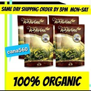 (4)Te Divina Original 100% Organic detox Tea....