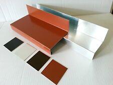 1m Gesimsabdeckung Gesimsblech für Mauervorsprung,Alu Farbig oder Natur 0,8 mm