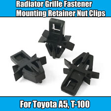 20x Clips For Toyota A5 Radiator Grill Fastener Mount Retainer Nut Black Plastic