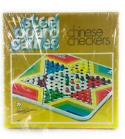 New' in Original Box' Vintage 1975 Pressman Steel Chinese Checkers Board Game